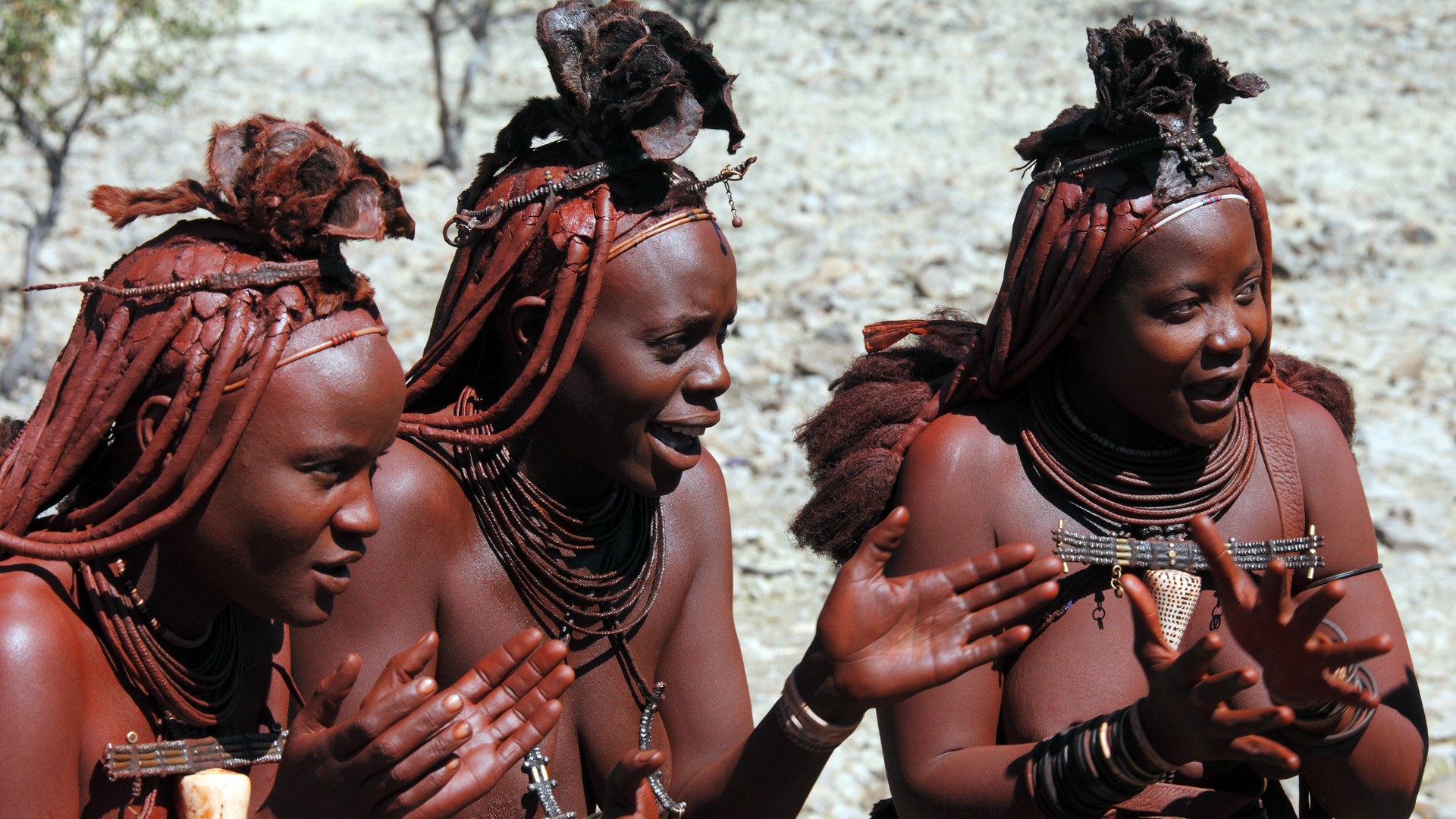 Custom Travel Planner Network-Namibia-Himba Tribespeople
