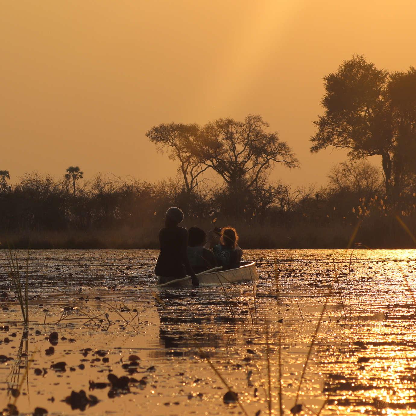 Custom-Travel-Planner-Network-1-Botswana-mokoro-in-the-Okavango-Delta
