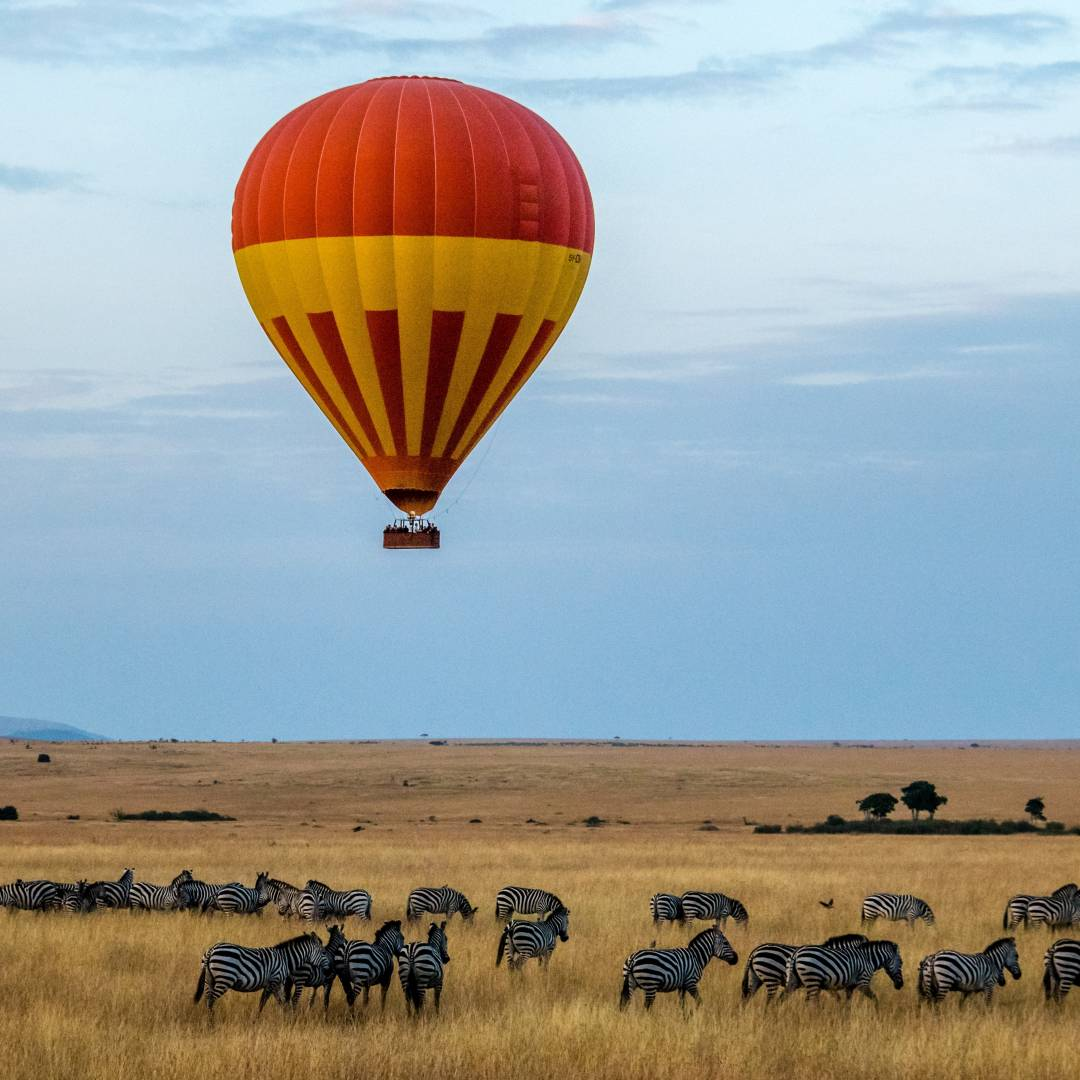 Custom-Travel-Planner-Network-2-Kenya-Maasai-Mara-National-Reserve Balloon Ride