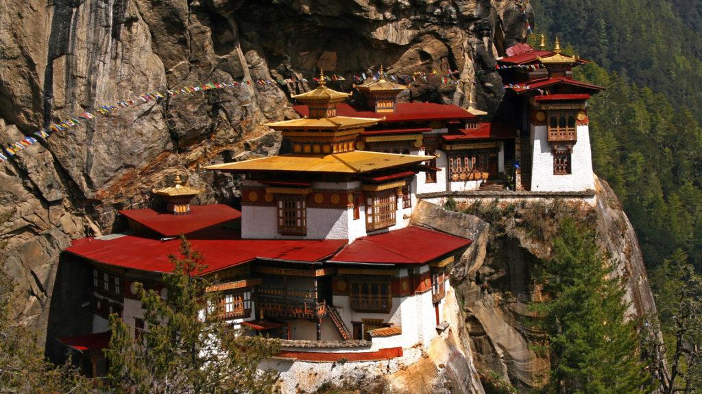 Custom Travel Planners Network-Bhutan-Tigers Nest Monastery