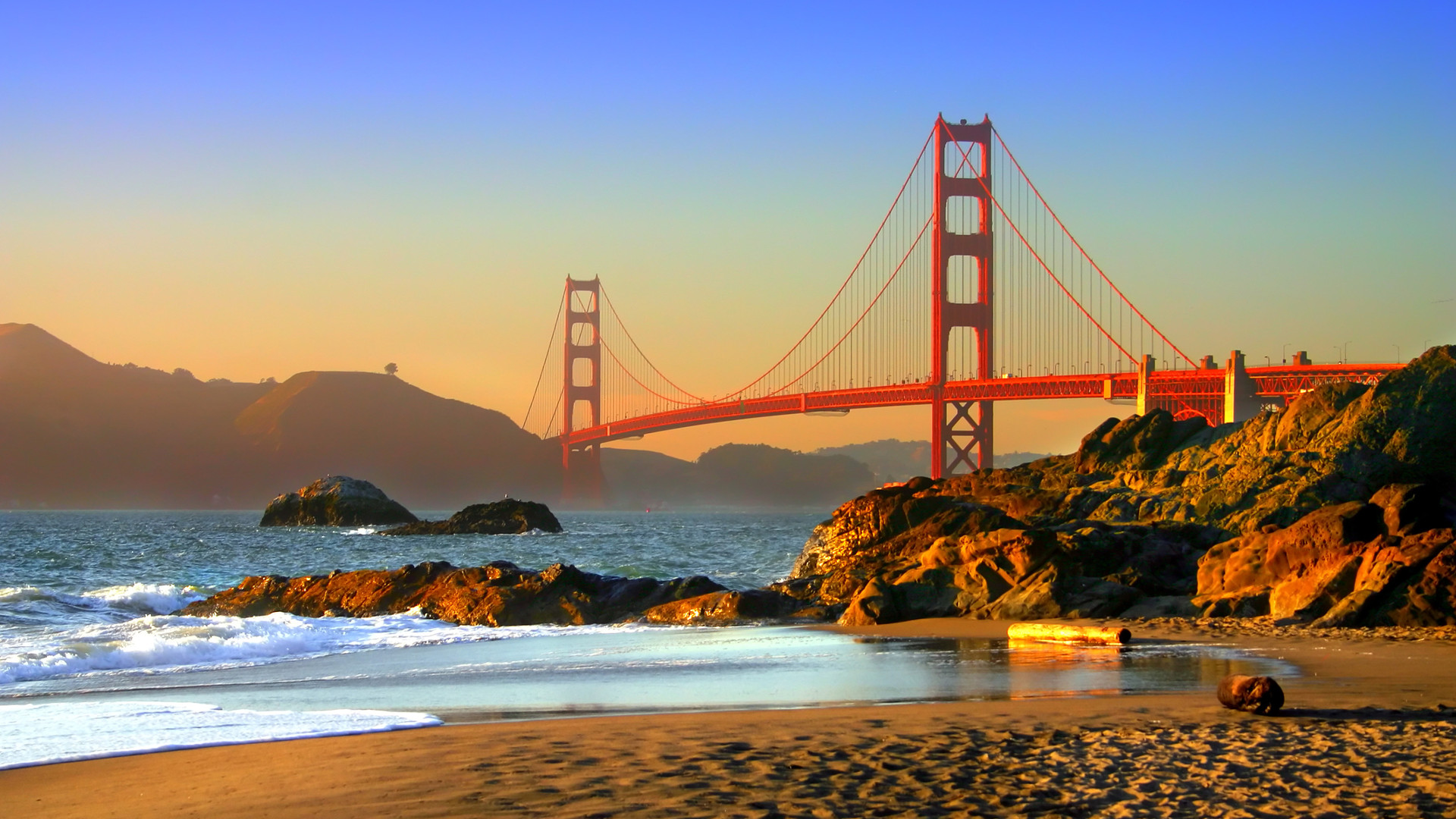 Custom Travel Planner Network-California-Golden Gate Bridge