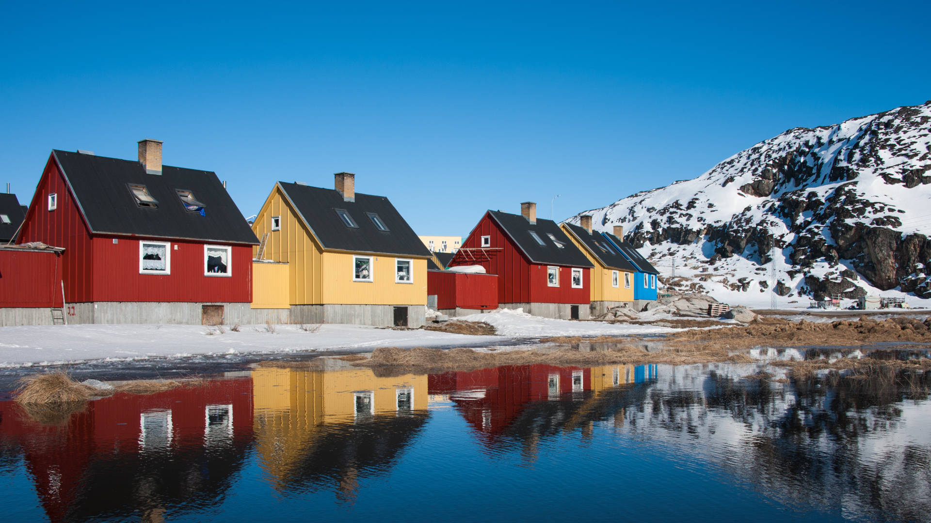 Custom Travel Planner Network-Greenland-Colorful Houses