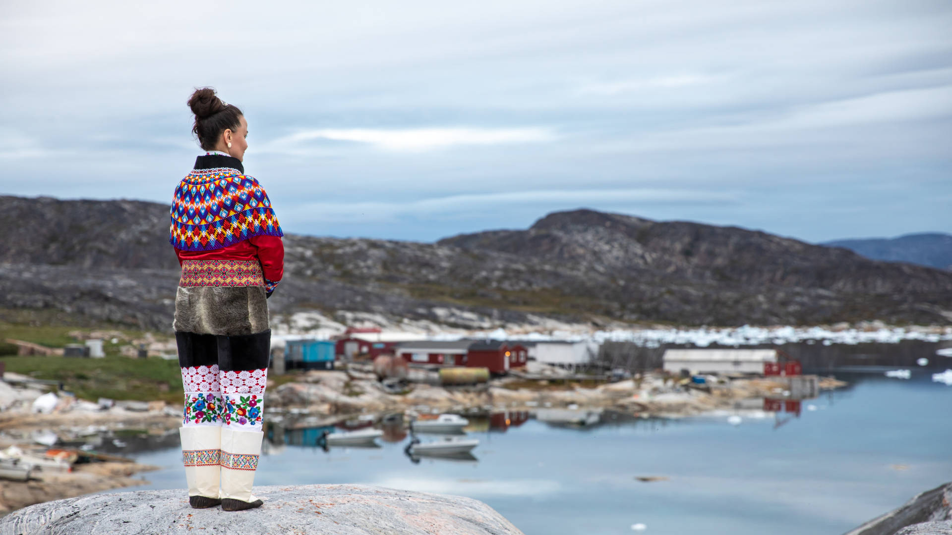 Custom Travel Planner Network-Greenland-Inuit Woman