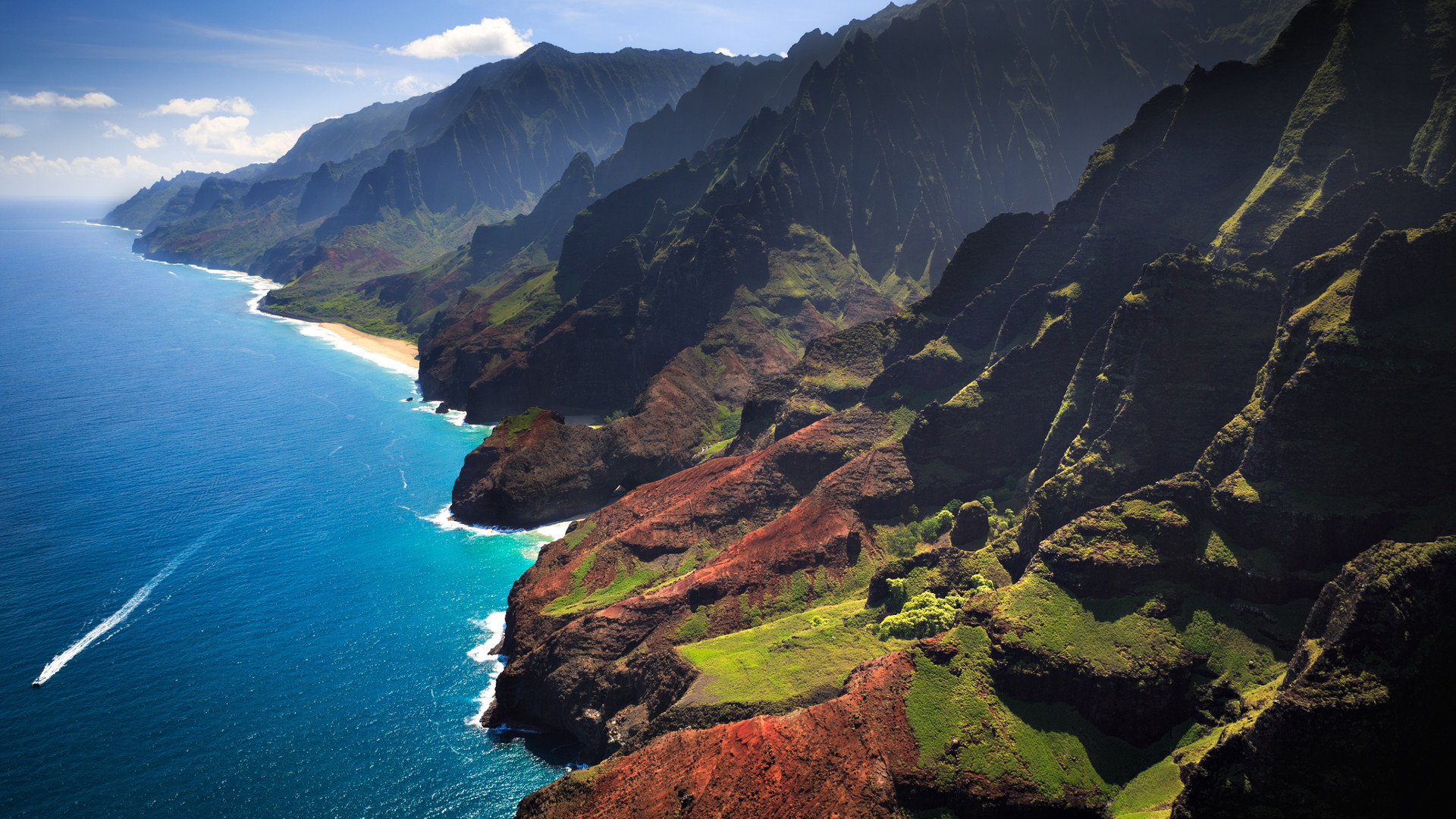 Custom Travel Planners Network-Hawaii-Na Pali Coastline