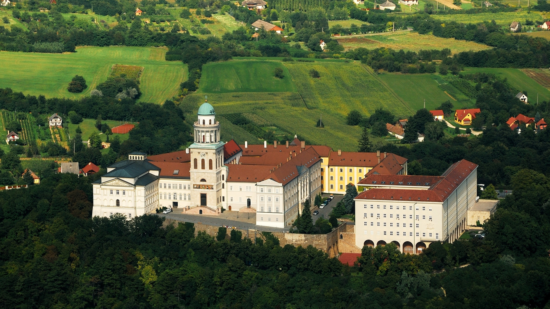 Custom Travel Planner Network-Hungary-Pannonhalma Abbey