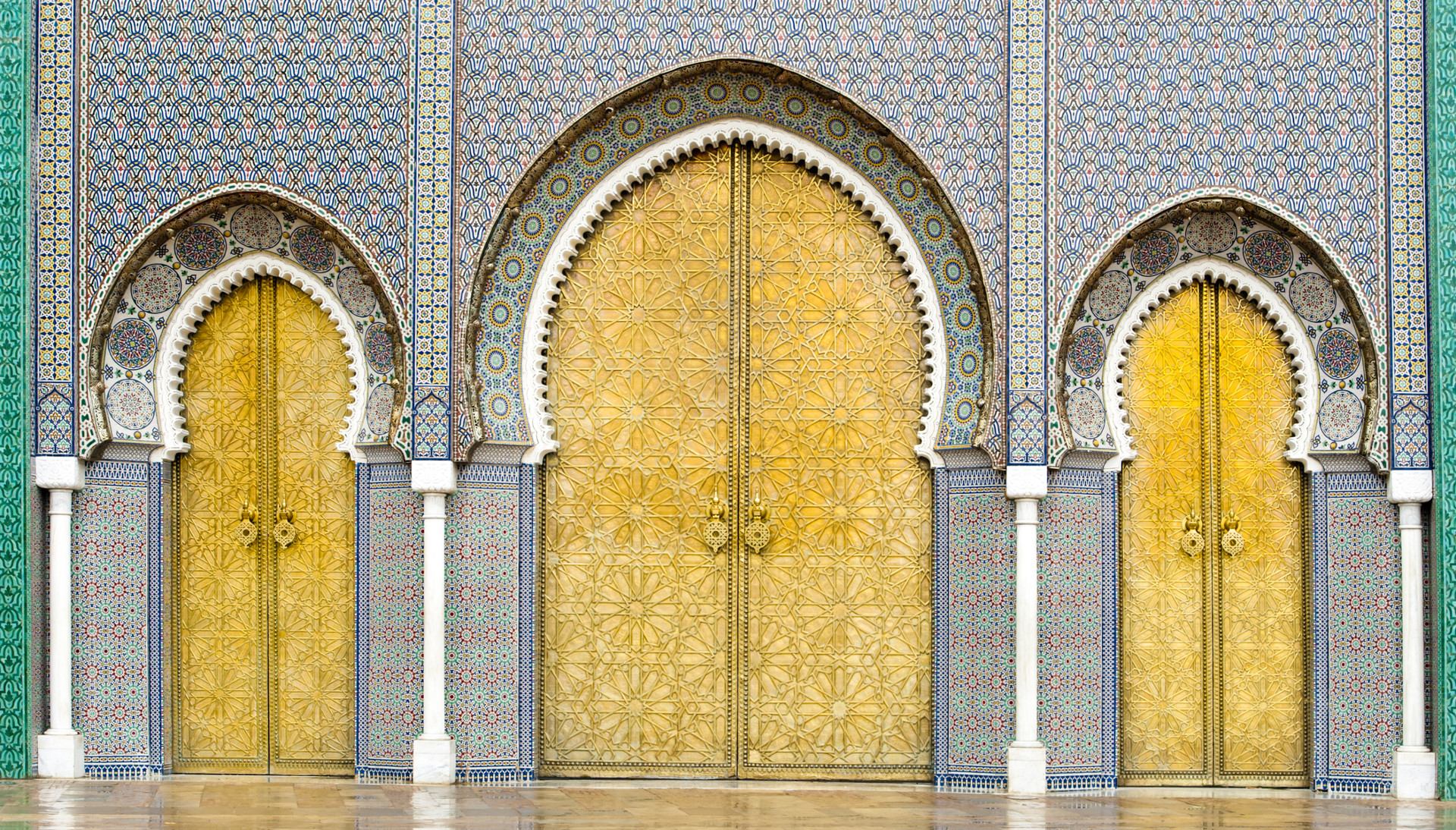 Custom Travel Planner Network-Morocco-Royal Palace in Fez