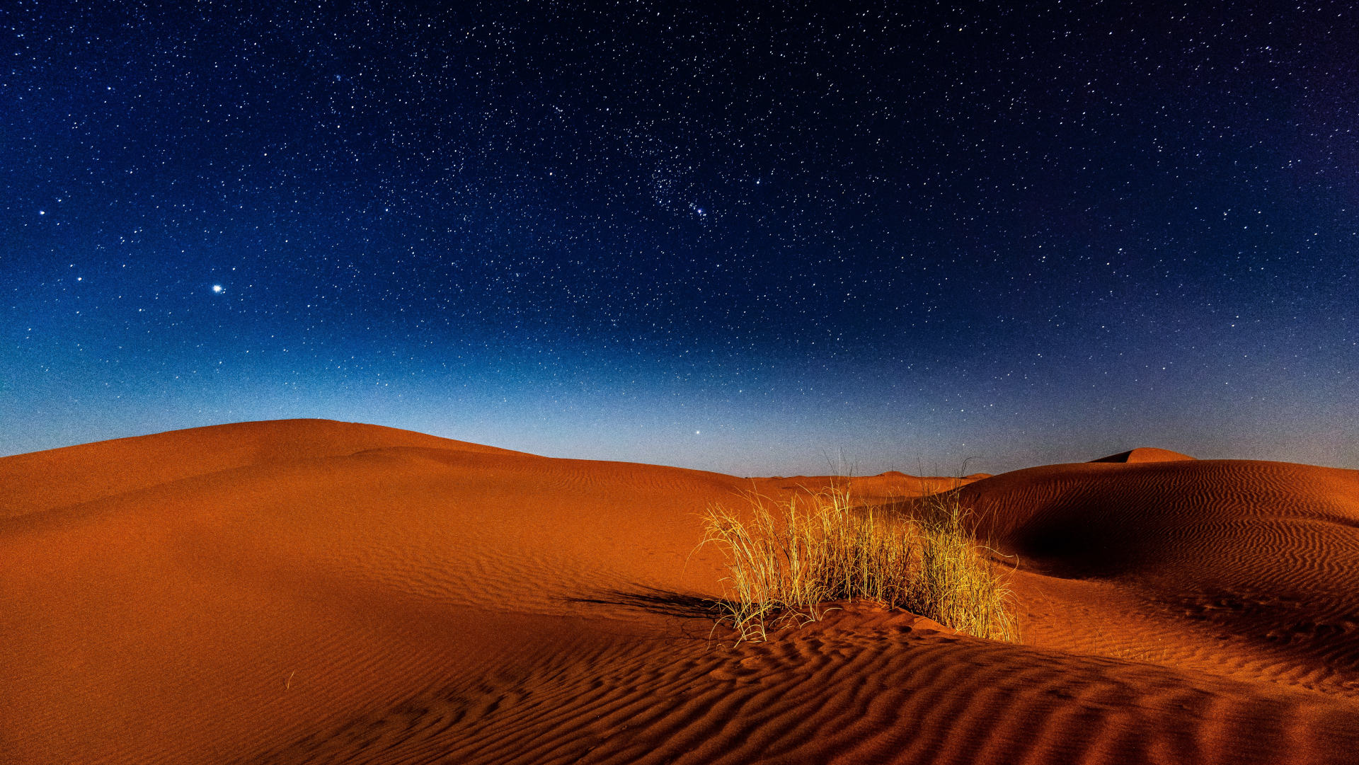 Custom Travel Planner Network-Morocco-Sahara at Night