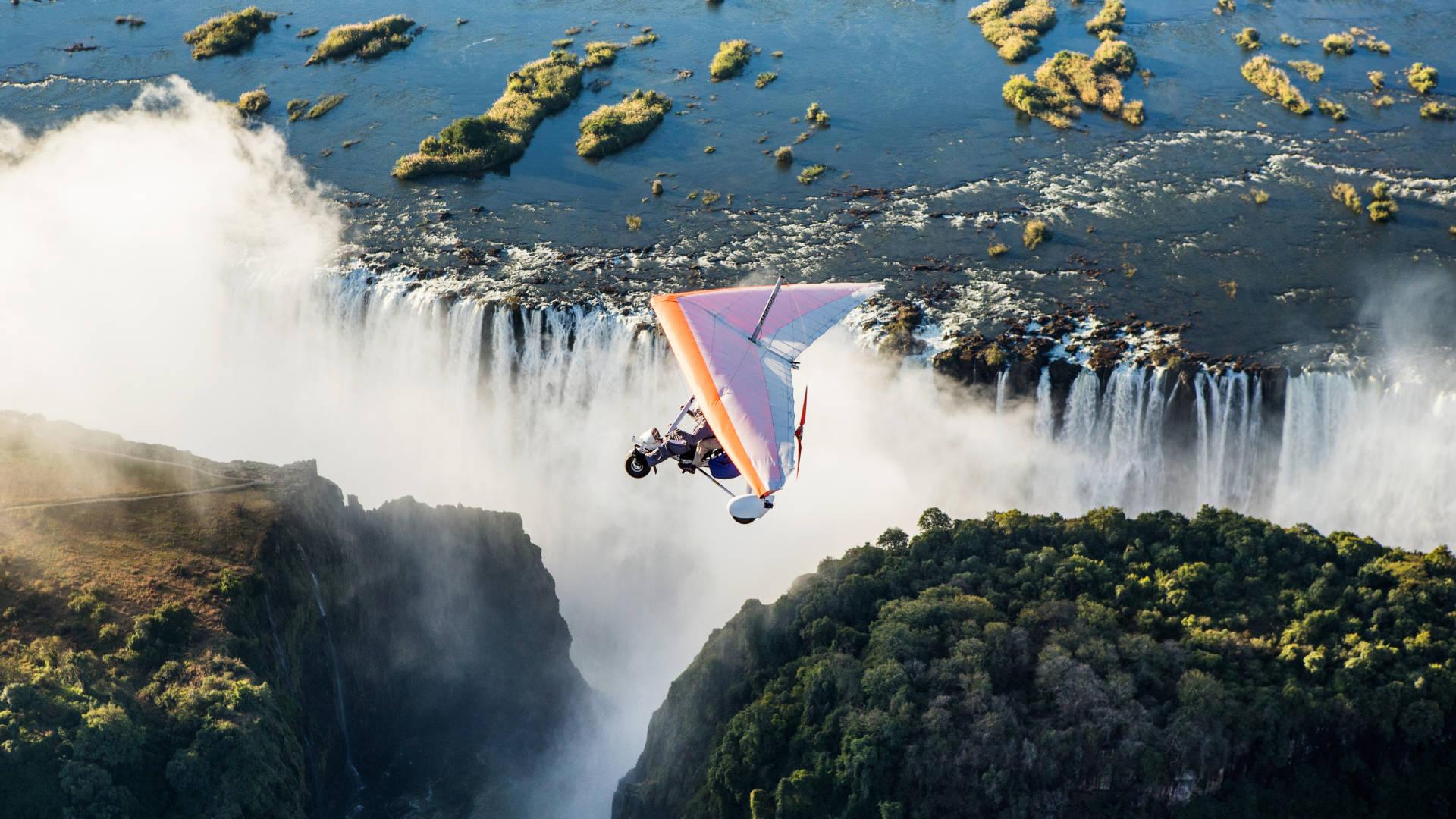 Custom Travel Planner Network-Zambia-Victoria Falls Flyover